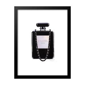 No. 5 Parfume Bottle on Chain